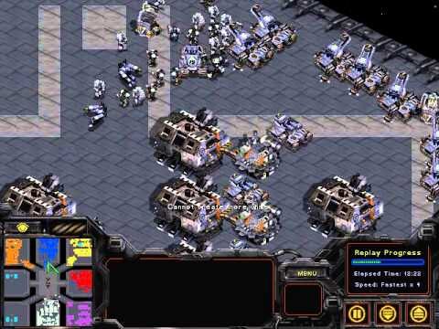 Starcraft broodwar 3 vs 3 fastest map great games