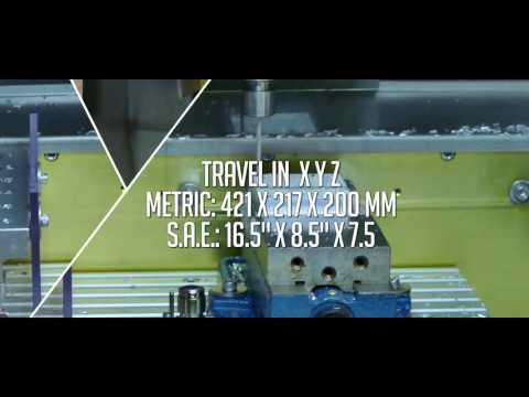 Levil Technology WL-F400 Tabletop Milling Machine Full Video