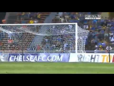 De Bruyne leg break INJURY after scoring Debut GOAL for Chelsea Chelsea 4 1 Malaysian XI] 21 7 2013