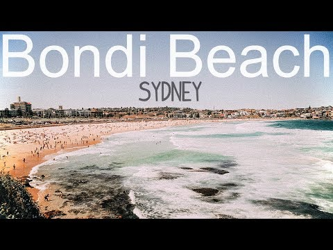 Bondi Beach In Sydney Australia! (It's Beautiful!)