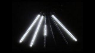 LED meteors.  Метеоры из светодиодов. Как сделать.  Корпус.