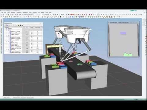 Robotics Simulation: Reconfigurable Pick and Place Simulation