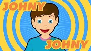 Johny Johny – Nursery Rhymes for Kids