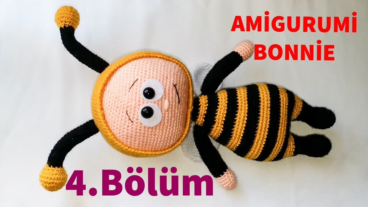 Amigurumi Bonnie 4 (Şapka ) (Gül Hanım)