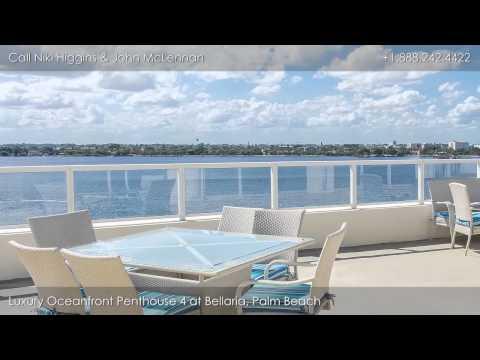 Bellaria, 3000 S. Ocean Blvd, Palm Beach FL: Luxury Penthouse 4