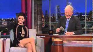 Justin Bieber Cries  Selena Gomez Disses Justin On David Letterman