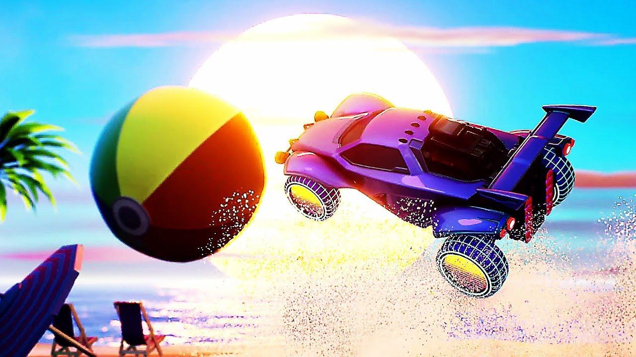 "ROCKET LEAGUE ""Ghostbusters K2000 Beach"" Trailer (2019) PS4 / Xbox One / PC + video"