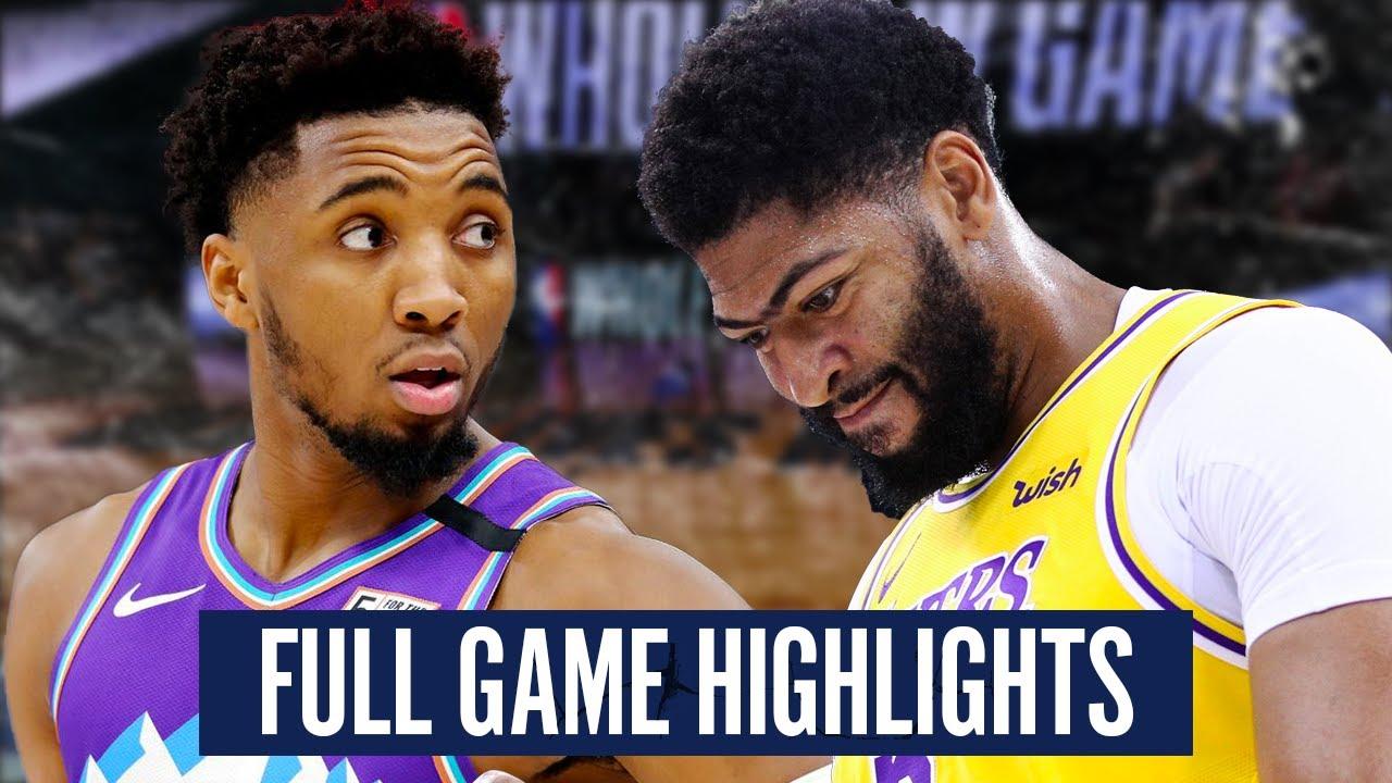 Download UTAH JAZZ vs LA LAKERS - FULL GAME HIGHLIGHTS   2019-2020 NBA Season