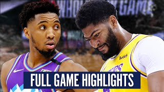UTAH JAZZ vs LA LAKERS - FULL GAME HIGHLIGHTS | 2019-2020 NBA Season