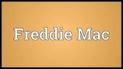 Freddie Mac Meaning
