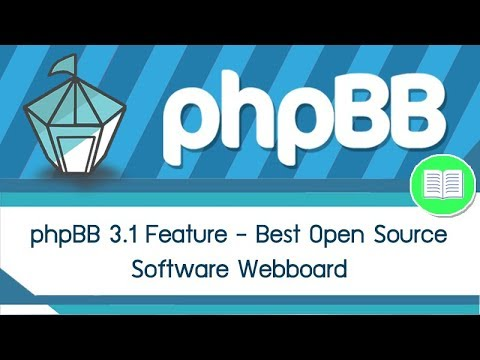 phpBB 3.1 Feature - Best Open Source software Webboard