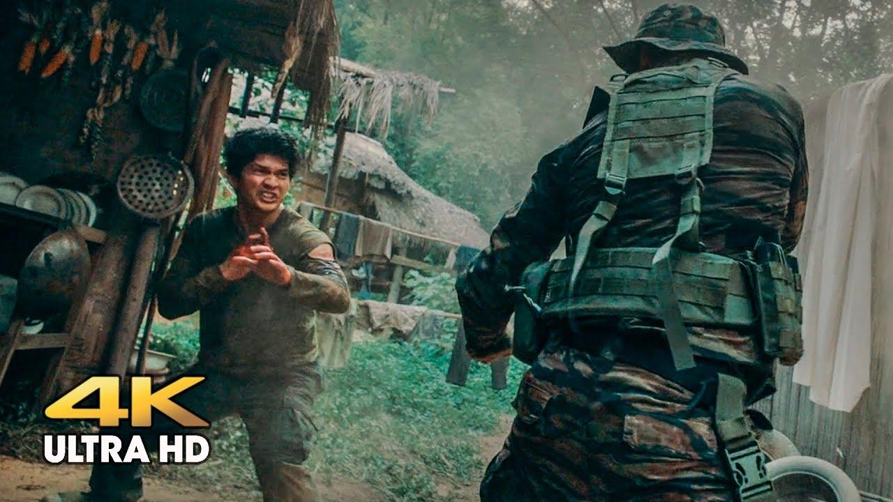 Download Attack on the camp in the jungle. Peyu (Tony Jaa) vs Jaka (Iko Uwais). Triple threat
