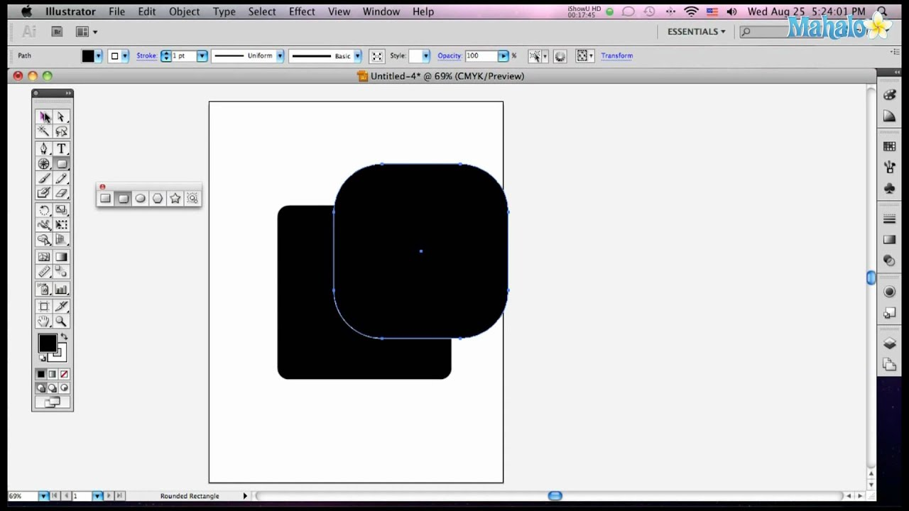 how to use cut adobe illustrator