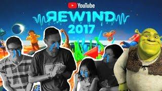 VIDEO REACCION AL YOUTUBE REWIND 2017 (con mi hermana de 6 años) y mis demás hermanos!! - Super M