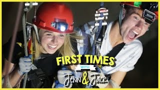 CAVE DIVING! W/ JENNXPENN AND THATSOJACK   FIRST TIMES EP. 10