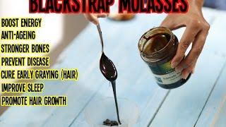 Blackstrap Molasses | Benefits & Uses | The Beauty Reel