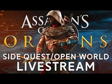 Assassin's Creed Origins | Doing Some Side Stuff - Chillstream