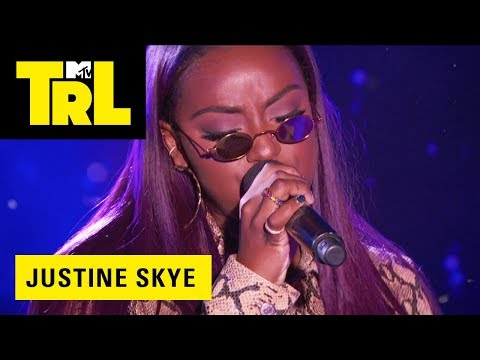 Justine Skye Performs 'Don't Think About It' | TRL Weekdays at 4pm