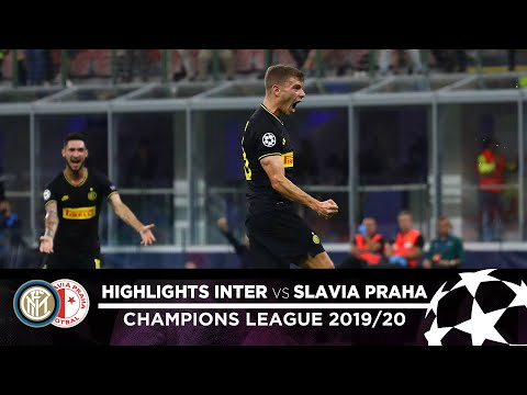 Inter 1-1 Slavia Praha   Highlights   Matchday 01 – Uefa Champions League 2019/20