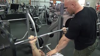 Ben Pakulski: Isolating Your Back W/ The Bench Press