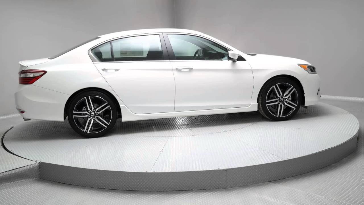 2016 White Orchid Pearl Honda Accord Sedan G080 Youtube