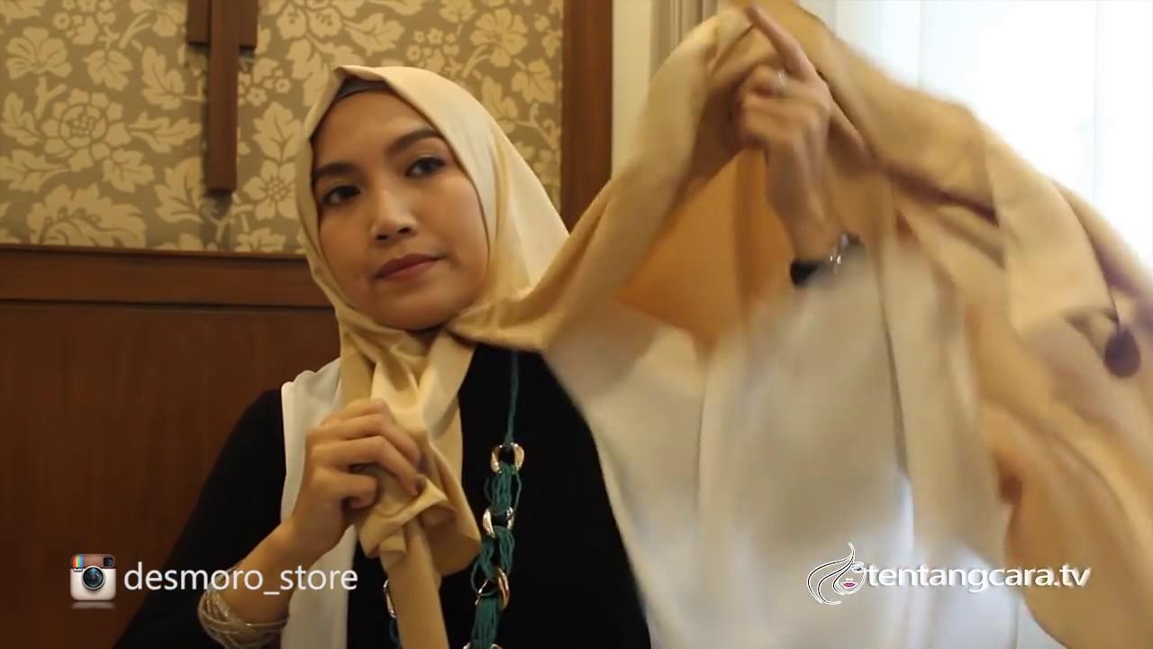 Tutorial Hijab Pashmina Satin Velvet Untuk Sehari Hari 6 YouTube