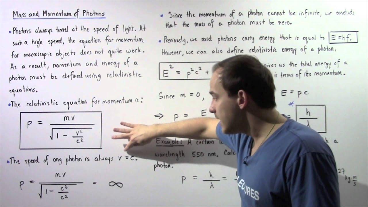 Masse Photon