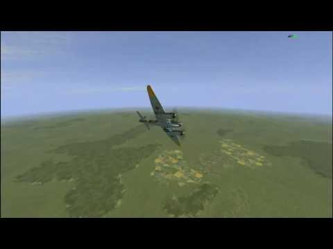 Работа по точечным целям. Ju-88A-4. Сервер - Легенды Авиации.