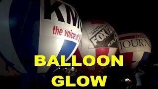 The Great Forest Park Balloon Race 2015 - BALLOON GLOW Propane Burn!