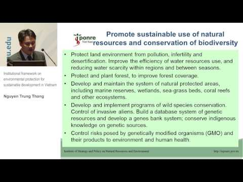TIS Conference - Institutional framework on environmental protection (3.3)