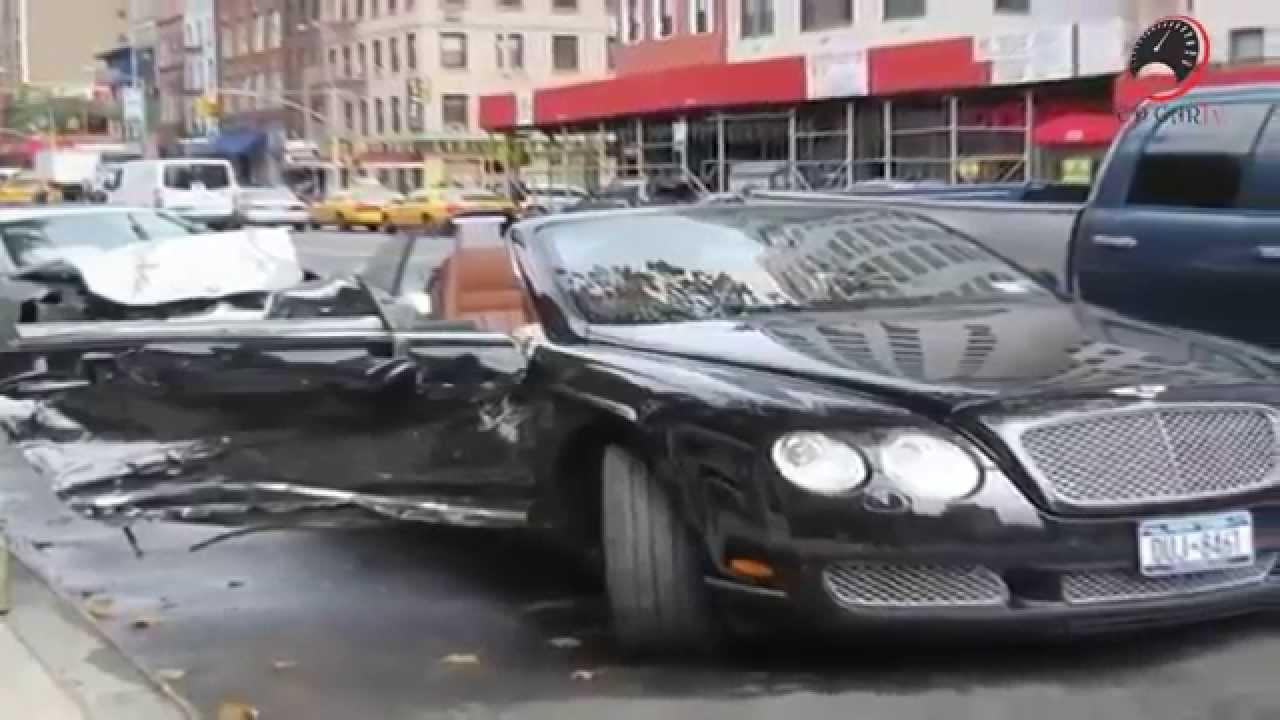 Bentley Crash New Full Hd 720p Youtube