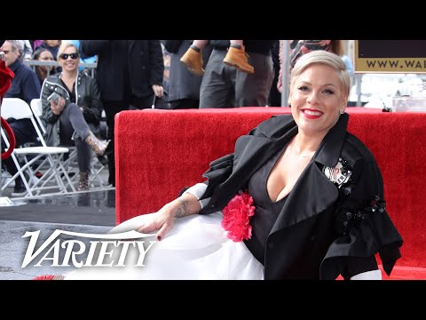 Chris Davis - Pink Gets Her Star on the Hollywood Walk of Fame! (VIDEO)