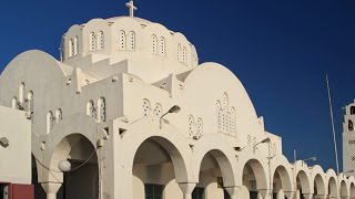 A Walking Tour of the Orthodox Metropolitan Cathedral in Santorini