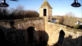 Spofforth Castle Revisited with a WL Toys V666 and Mobius