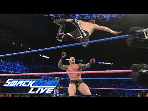 Orton and Zayn battle for spot on SmackDown's Survivor Series team: SmackDown LIVE, Oct. 24, 2017