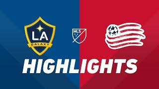 LA Galaxy vs. New England Revolution | HIGHLIGHTS - June 2, 2019
