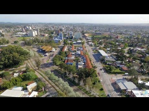 Video aéreo en la ciudad de Maldonado, Uruguay desde lo Alto