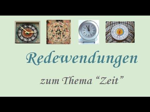 Die Zeit (Redewendungen)