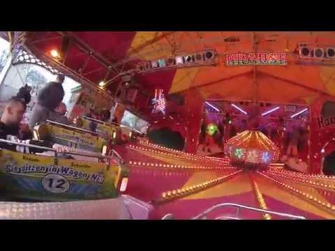 Musik Express - Schneider/Krause (Onride) Video Frühjahrskirmes Bielefeld Brackwede 2015