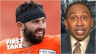 Stephen A. explains why Baker Mayfield is facing a pivotal game vs. Joe Burrow in Week 2| First Take