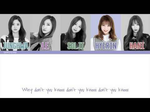 EXID (이엑스아이디) - Up & Down (위아래) [Color Coded/Eng/Han/Rom]