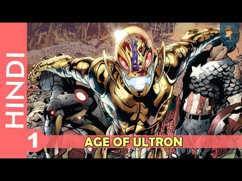 AVENGERS Age Of Ultron -- Part 01 | End Of World | Marvel Comics In Hindi | CARTOONFREAKS