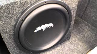 Bonethugs bass demo - 36hz tuning 1500 watts