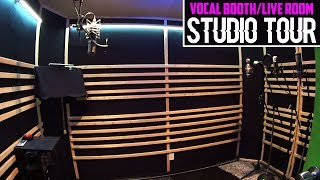 Vocal Booth/Live Room Studio Tour