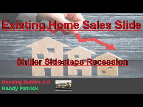housing-bubble-2.0---september-existing-home-sales-slide---shiller-sidesteps-recession-talk