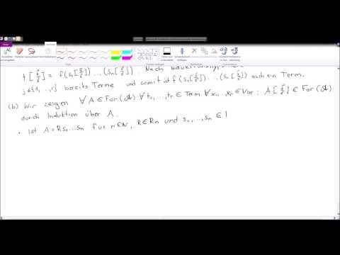 Mathematische Logik - Grundlagen - Teilformeln