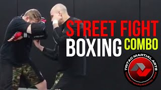 3 Punch Street Fight Boxing Combo Attack & Defense