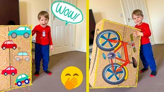 Leo Receives an Awesome Surprise from Mummy and Daddy (NEW WHEELS #toycars)