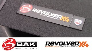 In the Garage™ with Performance Corner®: BAK Industries Revolver X4 Hard Rolling Tonneau Cover