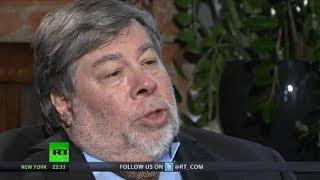 Wozniak: Danger that Internet becomes tool for govt control & surveillance